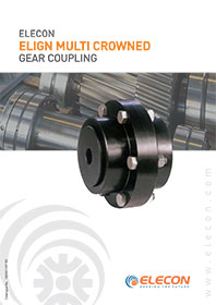 elecon product catalog for ELIGN GEARED  COUPLING