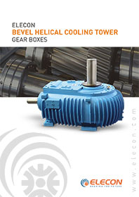 elecon product catalog for COOLING TOWER GEARBOXES