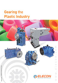 elecon product catalog for TWIN SCREW EXTRUDER GEARBOX