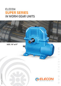 elecon product catalog for WORM GEAR HIGHER SERIES