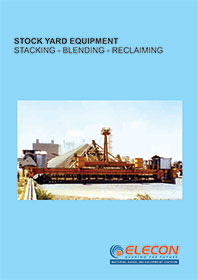 elecon product catalog for BARREL TYPE BLENDER RECLAIMER & TRASNFER CAR
