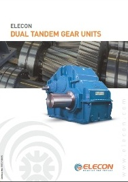 elecon product catalog for DUAL TANDEM GEARBOX