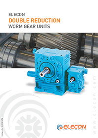 elecon product catalog for Double Reduction Gear