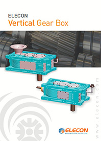 elecon product catalog for Vertical Gear Box