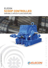 elecon product catalog for SCOOP CONTROLLED VERIABLE SPEED FLUID COUPLING