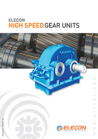 elecon product catalog for HIGH SPEED GEARBOX