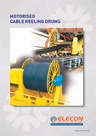 elecon product catalog for Cable Reeling Drum