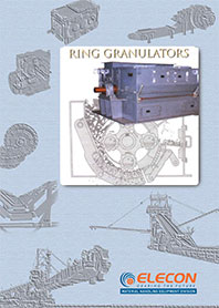 elecon product catalog for Ring Granulator