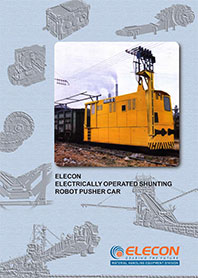 elecon product catalog for Rail Pusher Car