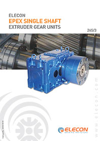 elecon product catalog for EXTRUDER  GEARBOX