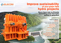 elecon product catalog for HYDRO POWER PLANT HYDEL TURNINE DRIVE GEARBOX