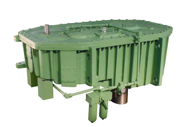 elecon product Custom Built Gear Box for Precipitator