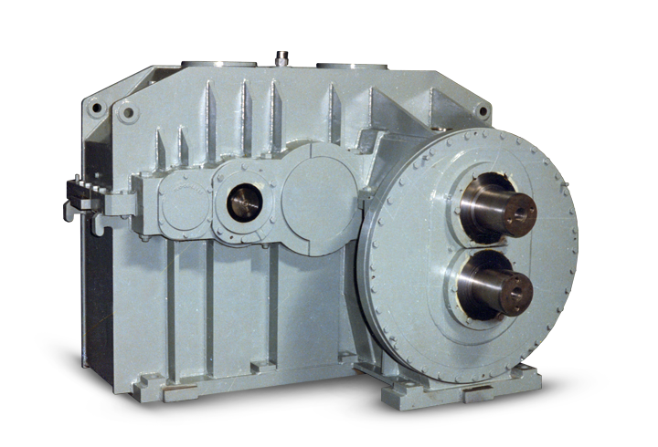elecon GEAR BOX WITH PINION STAND FOR WIRE ROD MILL DRIVE