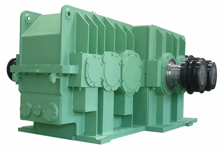 elecon product Mixer Drive Gear Box Single Input, Double Output shaft