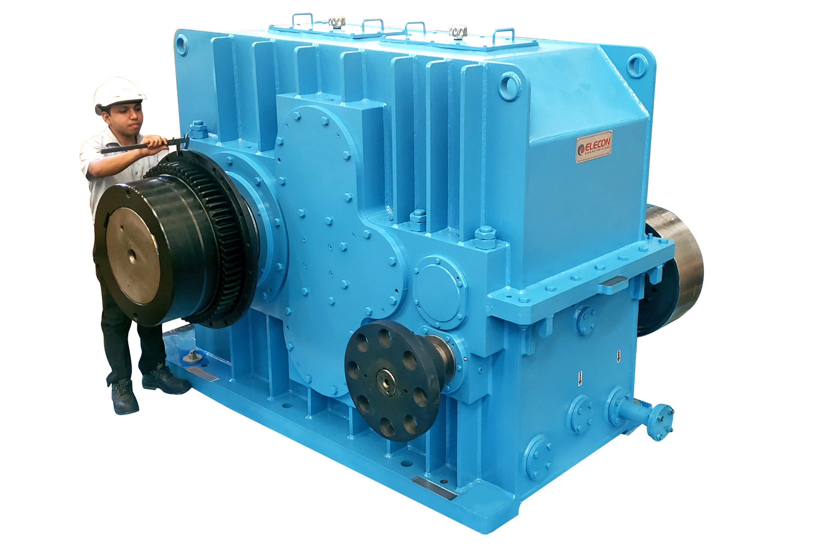 elecon product DUAL TANDEM GEARBOX